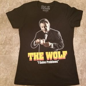 The Wolf  womens graphic T-shirt
